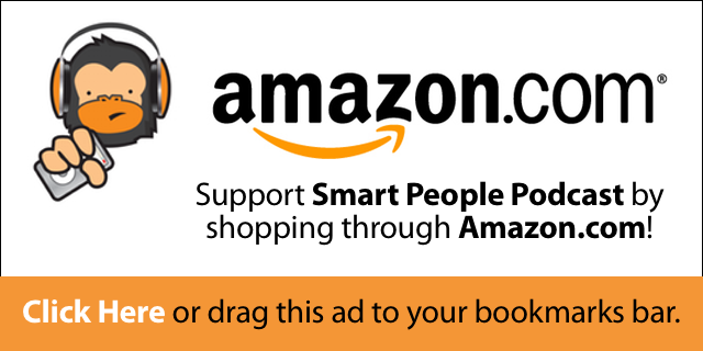 smart people podcast amazon ad
