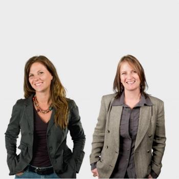 Nancy Duarte and Patti Sanchez
